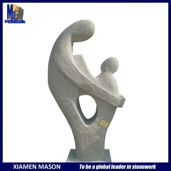 Marble Mother And Baby Sculptures