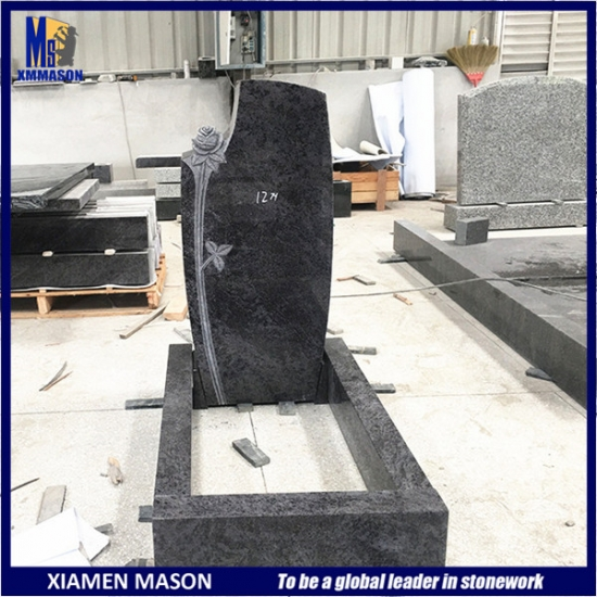 Woman Kerbsets for Grave